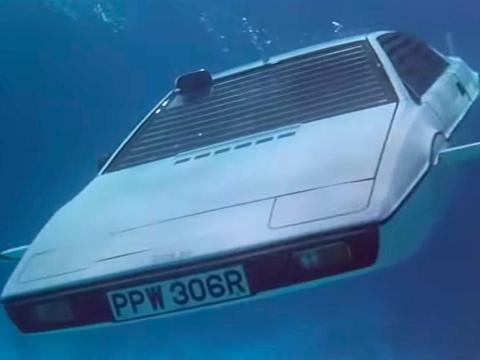 El Lotus Esprit de 1976.