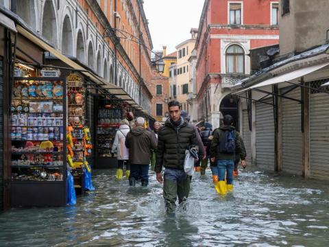 That will lead to more sea-level rise — about 0.3 to 0.6 feet on average globally by 2030, according to the US' National Climate Assessment.