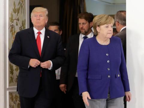 1. Democratic world's perfect leadership storm