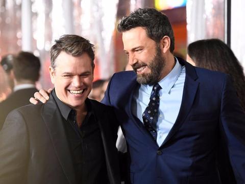 Matt Damon y Ben Affleck compartirán la pantalla nuevamente el próximo invierno.