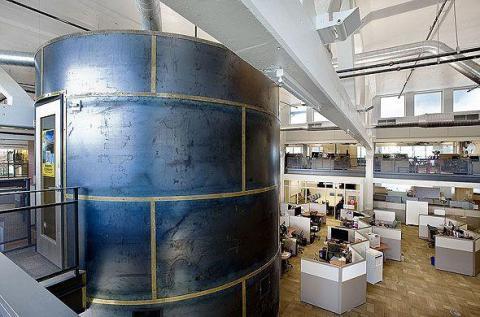 2. La oficina de la compañía en Pittsburgh está ubicada en una antigua fábrica de Nabisco y, según se informa, cuenta con una sala de panadería temática en un guiño a la historia del edificio.