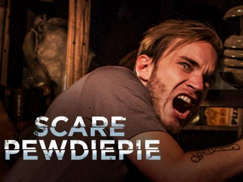 "So in 2015, when YouTube launched its ad-free subscription service, YouTube Red, the company announced it was working on an exclusive show with Kjellberg called ""Scare PewDiePie."" The series, which featured Kjellberg exploring"