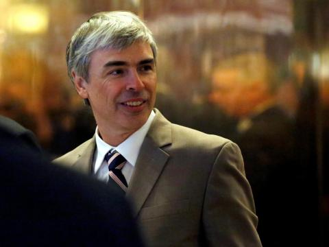 Larry Page, who cofounded Google with Sergey Brin.