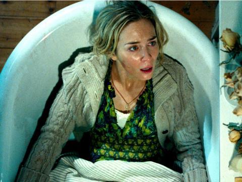 """Emily Blunt protagonizó """"Un lugar tranquilo"""" en 2018."""