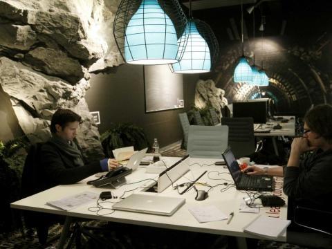 5. Google Zurich se encuentra en el interior de una antigua cervecería, a pocos pasos del lago de Zúrich.