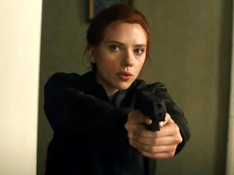 """Scarlett Johansson en """"Viuda negra""""."""