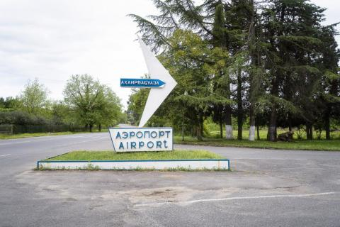 Abkhazia's airport has gone virtually untouched since the early 1990s. The airport is closed for international traffic because it's not recognized by the International Civil Aviation Organization.