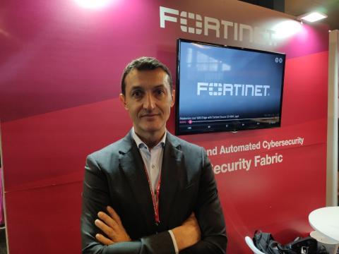 Acacio Martín, director regional de Fortinet.