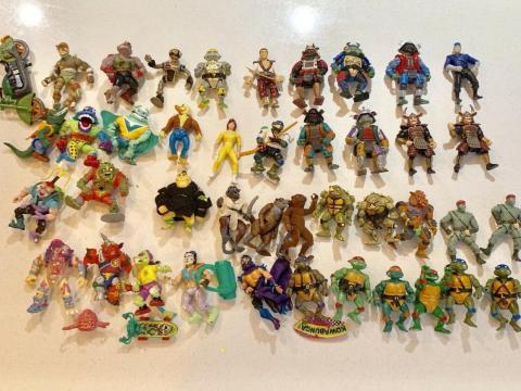 Colección de Tortugas Ninja Adolescentes Mutantes.