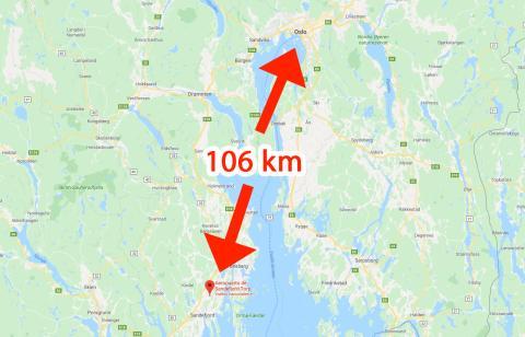 Aeropuerto de Oslo Sandefjord-Torp