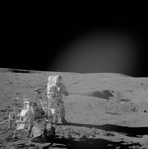 Alan Shepard en la Luna