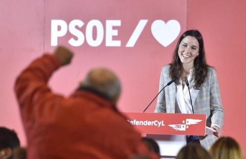 La diputada del Grupo Socialista Andrea Fernández.