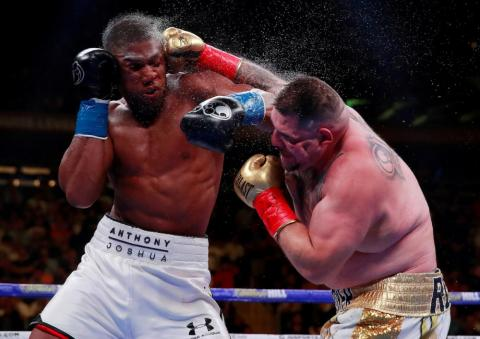 """Andy Ruiz Jr fights Anthony Joshua for the WBA Super, IBF, WBO, & IBO World Heavyweight Titles in New York on June 1. The bout was run by Ruiz, who was defeated by Joshua in a rematch in Saudi Arabia in December, dubbed the """"Clash"""