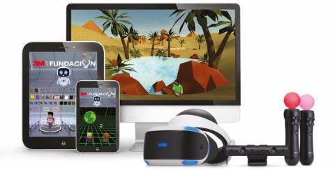 Aplicación STEM + VR