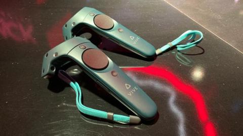 Y aquí los HTC Controller que me han parecido sencillamente magníficos