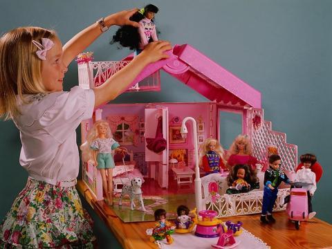 La casa de Barbie