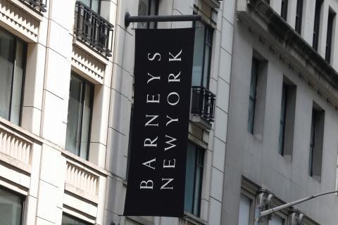 El edificio de Barneys en Nueva York