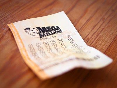 Billete de lotería Mega Million