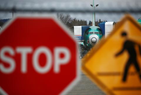 Boeing 737 Max detenido en tierra