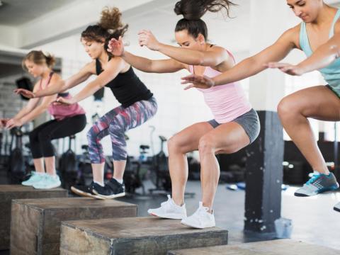 Los gimnasios 'boutique' crecen mucho más rápido que las grandes instalaciones.