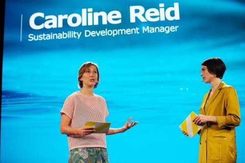 Caroline Reid, manager del desarrollo de sostenibilidad de IKEA.