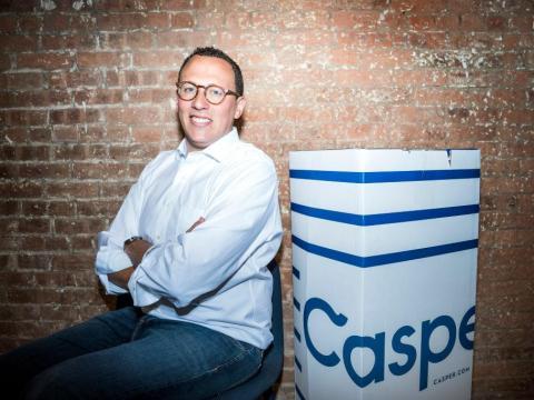 Philip Krim, cofundador y director ejecutivo de Casper, posa para un retrato el 2 de agosto de 2017 en la ciudad de Nueva York.
