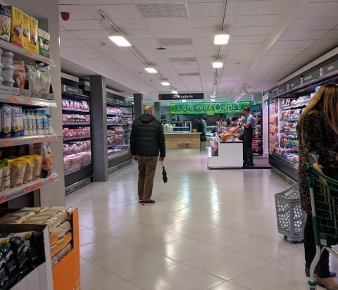Charcutería tienda eficiente de Mercadona