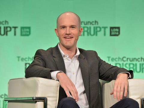 Brian Armstrong, CEO de Coinbase