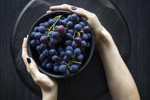 Comer uvas en Nochevieja.