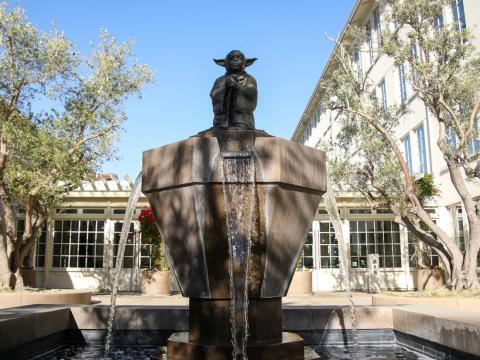 "The creator of ""Star Wars"" entered the San Francisco ecosystem in 2005. You can visit the Yoda Fountain outside the company's offices."
