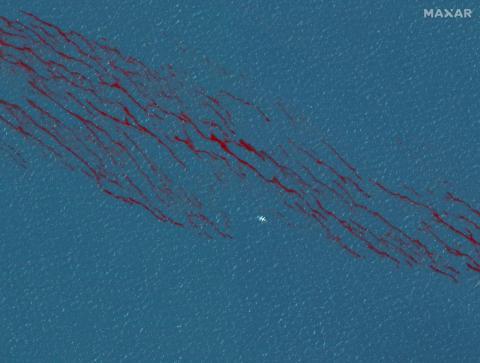 The BP oil spill on April 26, 2010.
