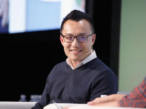 El CEO de DoorDash,Tony Xu