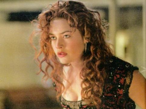 "Kate Winslet en ""Titanic."""