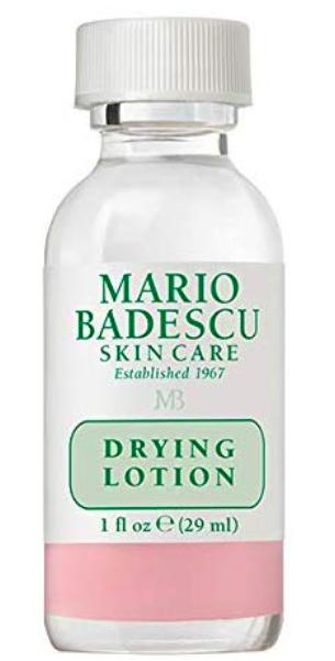 Drying lotion de Mario Badescu.