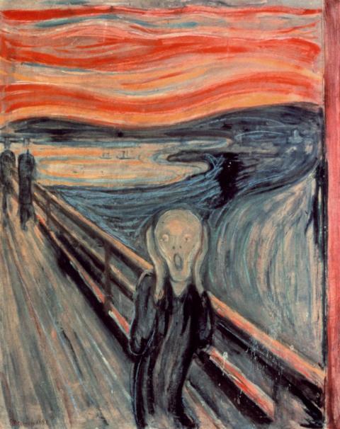 """""""El grito"""" de Munch"""
