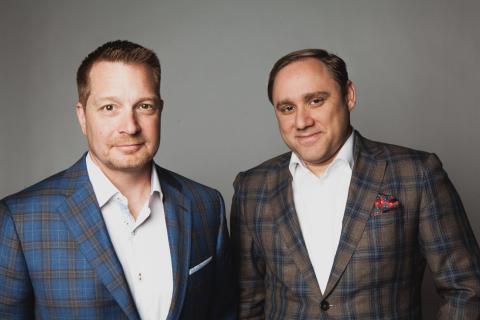 George Kurtz, a la izquierda, es el CEO de CrowdStrike.