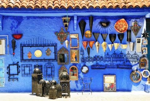 Essaouira, Marruecos, es una ciudad portuaria que se está forjando un nombre en la música, la arquitectura y el arte.