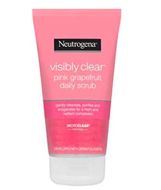 Exfoliante facial Neutrogena Visibly Clear.