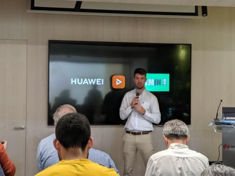 Fabio Arena, product Manager de Huawei Consumo