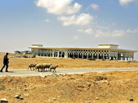 El aeropuerto internacional de Gaza ya no está operativo.