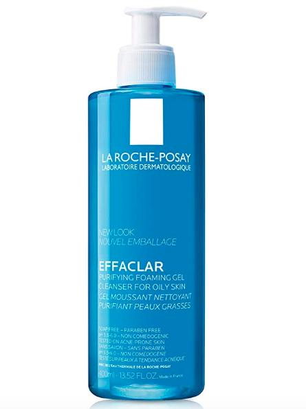 Gel limpiador Effaclar de La Roche Posay .