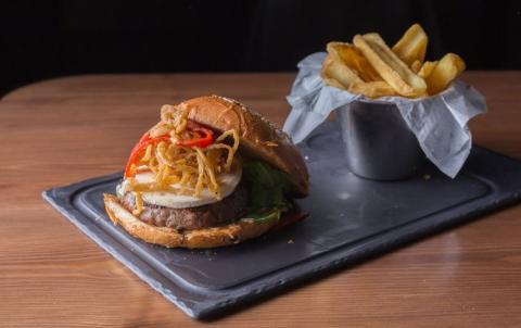 Hamburguesa de Steakburger en Murcia.