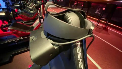 Este es el headshet que se utiliza en el Proyect Cars Pro