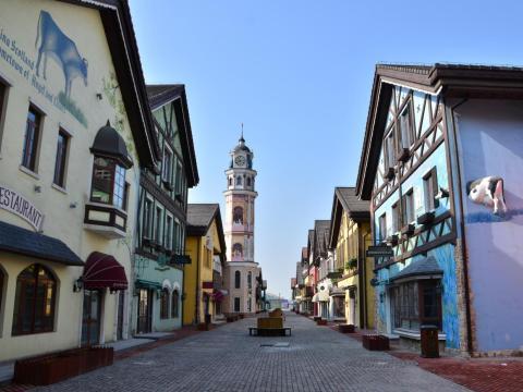 Calle internacional Tonghui Town.