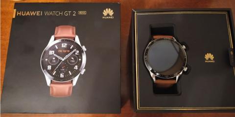 Huawei Watch GT2 caja y presentación