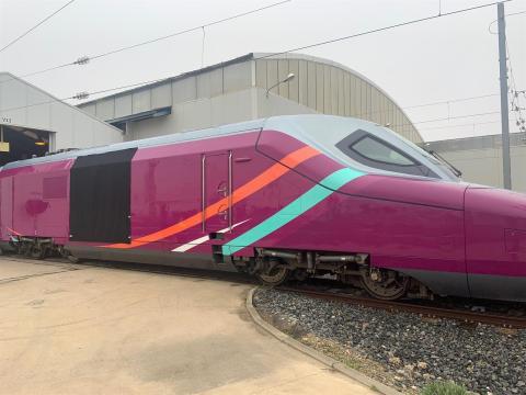 Una imagen del nuevo AVE low cost.
