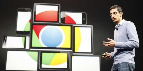 Pichai convenció a Google de lanzar Chrome.