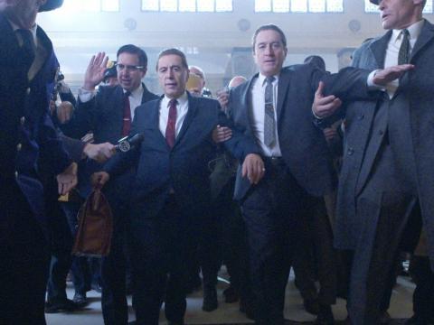 """""""The Irishman"""" — November 1 (Available on Netflix 27)"""