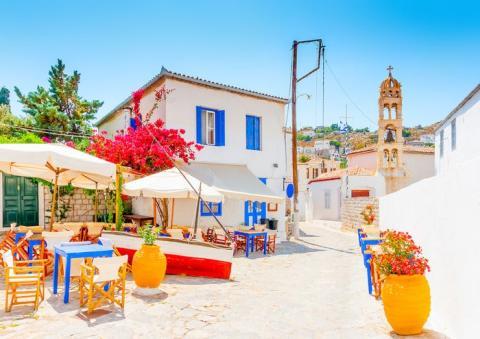 La isla de Hydra, Grecia, es ya un lugar preferido por los ricos y famosos.