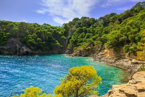 Se puede llegar a las Islas Tremiti en barco.